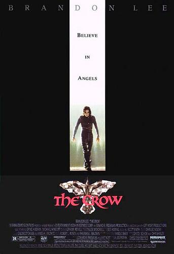 The Crow - US Movie Poster