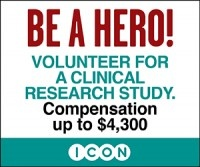 Be a Hero! Volunteer for a clinical research study.