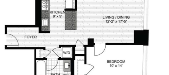 1 bedroom Beacon Hill
