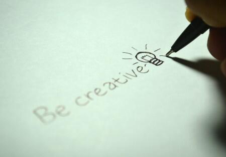 drawing, writing, creativity