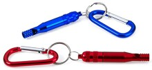 Emergency Whistle Keychain - W/ Clip-On _ Red, Green And Blue Colors - Easy Blow Loud Whistle - 3 Pack For Referee, Coaches, Training, Sporting, Self Defense, Survival, And Emergency - By Katzco