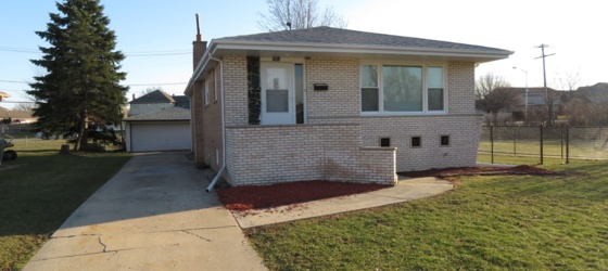 3 bedroom Tinley Park
