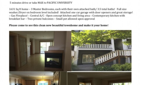 Apartments Near Pacific House on max station near Hillsboro campus for Pacific University Students in Forest Grove, OR